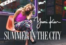 Summer in the City '13 Lookbook / Our summer collection takes a trip to Chinatown / by YUMI KIM