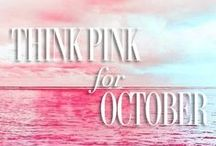 Think Pink: Breast Cancer Awareness / October is Breast Cancer Awareness month! Shop beauty brands that are giving proceeds to various breast cancer charities and discover other ways you can help!   / by YUMI KIM