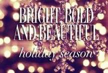 Bright, Bold and Beautiful Holiday Season / All things to get you in the mood for the holiday season!  / by YUMI KIM