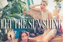 """Let The Sun Shine / Spring is here! Check out our latest 2014 Spring collection, """"Let the Sun Shine""""! / by YUMI KIM"""