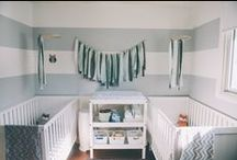 baby | modern grey & white nursery / by Melissa K