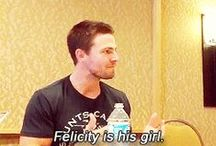 Olicity (Oliver Queen & Felicity Smoak) / Arrow / by Molly Wolf