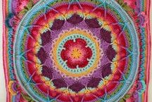 afghans - stitch samplers / by Tracey Herman
