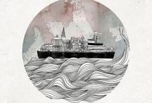 illustrations & paintings / by Celestine Kibe