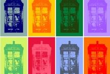 allonsy / Doctor+TARDIS / by rachel spazztastic