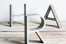 Typography Decor Inspiration / by WordBilly