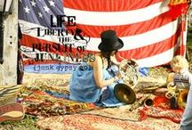 God bless the USA . . for the love of AMERICA!!! / we are blessed to be livin' our version of the AmErican dream . . the red, white & blue is one of our favorite inspirations. . . here's to the USA!!! / by JuNK GyPSY