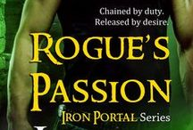 Iron Portal Series by Laurie London / Inspiration board for the Iron Portal Series.  ASSASSIN'S TOUCH: Rickert and Neyla  ROGUE'S PASSION: Asher and Olivia / by Laurie London