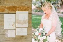 Rustic Lace / by LVL Weddings