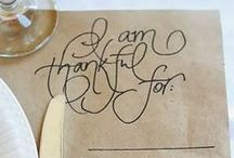 Thanksgiving  / by Katrin Sticha