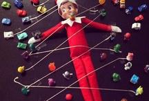 Christmas Elf on the Shelf / by Sabrina Poole