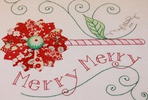 Embroidery Christmas / by Faye Smith