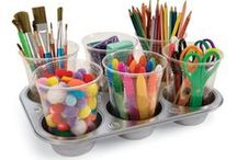 Children: Organization  / Ideas on how to organize toys and learning areas in the home / by Sabrina Poole