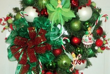 Wreaths to get busy on... / by Toni Smith
