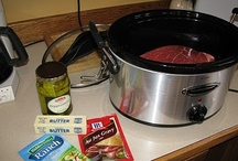 eazy peazy / mostly crock pot recipes / by Vickie Del Grosso