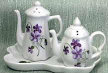 Teapots, Salt & Pepper Shakers And Teacups / by Sherrie Campbell