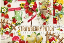 Strawberry Patch Collection / A strawberry themed scrapbook collection. / by Raspberry Road Designs
