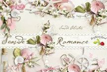 Seaside Romance / A beautiful romantic beach themed scrapbook collection. / by Raspberry Road Designs