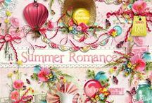 Summer Romance / A sweet summer themed scrapbook collection. / by Raspberry Road Designs