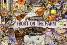 Frost On The Farm Collection / A frosty fall themed collection. / by Raspberry Road Designs