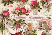 Christmas Romance / A soft sweet romantic style pink Christmas collection. / by Raspberry Road Designs