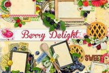 Berry Delight Scrapbook Kit / A mixed berry themed scrapbook collection from Raspberry Road Designs. / by Raspberry Road Designs