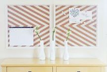 Cork Board Organizing / by Leanne - Organize and Decorate Everything
