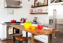 Kitchen | Design & Style / Love dreaming about creative, functional kitchens! / by Sandy | Reluctant Entertainer