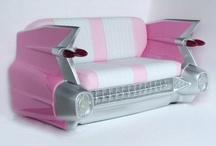 Pink Cadillacs / Elvis always rode in style.  / by Elvis Presley