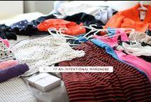 intentional wardrobe / by Julia Garza