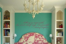 Hailey's new room ideas / by Vickie Waadevig