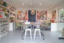 Craft Space Envy / Scrap/Craft spaces I wish I could have / by Natalie Stewart