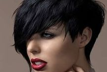 HairCut Ideas... Short and long cuts... You name it, its here!!! / Short and Long Haircuts and Cute styles... Pay attention to colors too, some very cute ones! / by Ashley Beeck