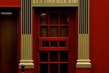 Red Doors / #reddoorobsession / by US Door & More Inc.