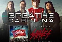 """Breathe Carolina / Featuring killer lead single """"Blackout""""--a bevy of 80s-tinged electro melodies and hip-shakingly infectious driving beats--every inch of """"Hell Is What You Make It"""" is designed to grab you by the hand and drag you to the dancefloor. Bring on the good times – Breathe Carolina is about to give you the time of your lives! 'Hell Is What You Make It' is out now via Fearless Records!  / by Fearless Records"""