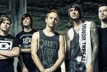 """Blessthefall / Phoenix, AZ's blessthefall stormed to the forefront of the new evolution of the post-hardcore/metalcore genre & was named one of the world's most explosive live bands"""" by Kerrang! Magazine. / by Fearless Records"""