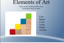 Art Class - ElementsPrinciples / by Nancy Morris