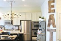 Kitchen (new house)  / by Ruthie Moffett