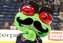 Stinger / The official mascot of the Columbus Blue Jackets / by Columbus Blue Jackets
