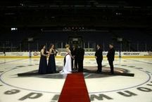 Hockey-ly Ever After / Planning a wedding? These hockey fans took their weddings to the next level.... / by Columbus Blue Jackets