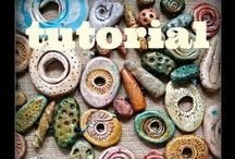 Paper & Polymer Clay / paper & polymer clay / by Kathy McElroy