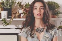 Botanica / Featuring abstract florals, geometric stone shapes, and colorful crystal clusters, our Fall 2014 collection focuses on one of our main sources of design inspiration – nature. / by Chloe + Isabel
