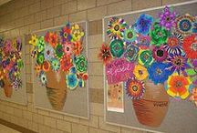 classroom: decoration/art / by Lauren Wenclewicz