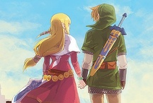 Legend of Zelda / Naryu+Din+Farore+greatest powers= An Amazing Adventure / by Theresa Aube