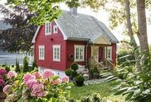 Playhouses/treehouses/Sheds/Tiny Apts/Small Cottages and other outdoor type rooms / by Sherry Schuler