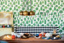 kitchen nook / by Ellie Snow