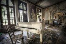 abandoned... / by Reba Rebel