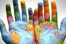 in our hands / time to check our world moral status  / by Alli Hobbs