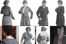 Suffragette City: Storyboard for Chic Knits' HEY GIRL Design / The history of the Sweater: Dress reform & Downton Abbey drama in the early 20th / by Bonne Marie Burns