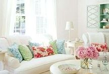 Lovely Spaces / by Jacqueline | weelittlestitches